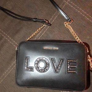 "Michael Kors ""Love"" crossbody bag"